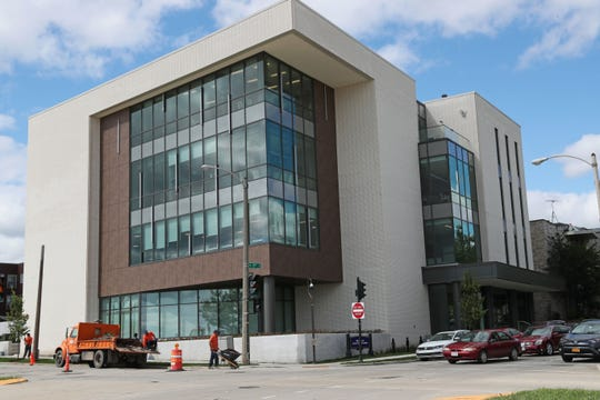 Marquette's new Physician Assistant Studies Building is at the corner of North 17th and West Clybourn streets.