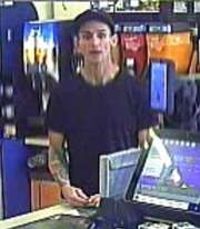 "On Sept. 10, police said this man entered a Speedway gas station in Greenfield and used a stolen debit card to make his purchases. On Oct. 1, police issued a call for help in identifying the man in the form of a ""missed connection"" Craigslist post."