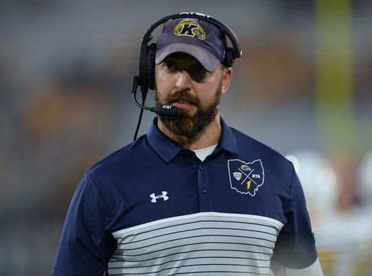 Kent State coach Sean Lewis, a former Badgers player, consulted with UW's Paul Chryst before entering the coaching profession.