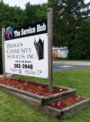 Bridges Community Services assists between 30 and 50 homeless individuals every day.