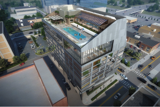 New Plans For Gulch Hotel And Restaurant At Whiskey Kitchen Site