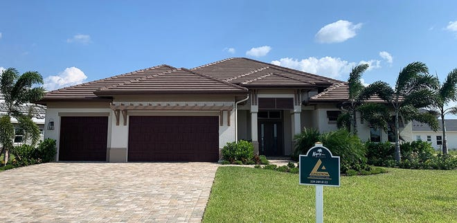 Sharon and Robert Bloom purchased Lundstrom Development's Belvedere model home in Parrot Cay at Naples Reserve