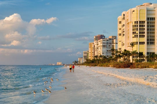 Naples continues to be the premier spot for vacation rentals.