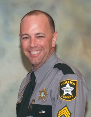 Collier County sheriff's Sgt. Steven J. Dodson, who died while on duty in 2017.