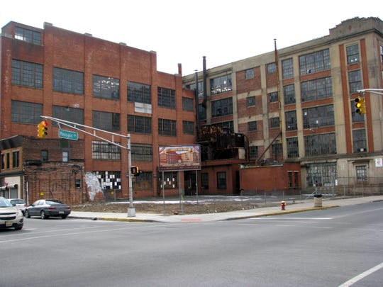 This industrial site at the corner of Market and Passaic streets, known as Big Apple West, once housed Uniroyal. It's being eyed for development.