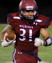 Senior Jesse Varela scored three touchdowns Friday night.