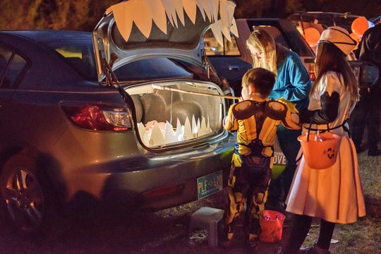 Trunk or Treat, a relatively new Glenwood tradition, has become a favorite event for everyone involved.