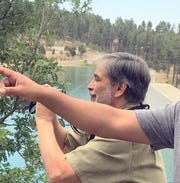 Wildlife biologist Larry Cordova was instrumental is establishing osprey nesting platforms around Grindstone Reservoir.