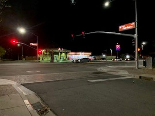 The accident occurred at the intersection of Arizona Avenue and Fairview Street, just south of downtownChandler, police said.