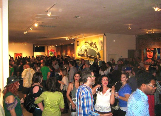 Chaos Theory 13, held in 2012 at Randy Slack's Legend City studio space in downtown Phoenix.