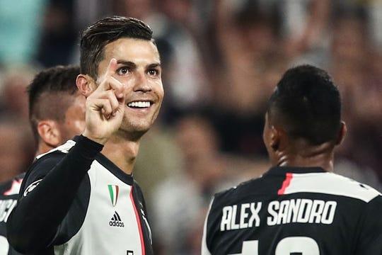 Cristiano Ronaldo, estrella de Juventus.