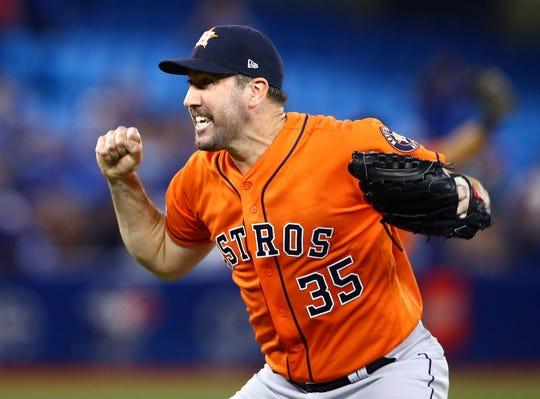 Justin Verlander, pitcher de los Astros.