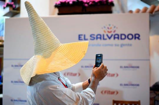 Turista en El Salvador.