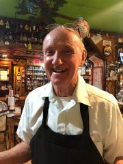 Al Kodet smiles for a photo taken by a customer at Foxfire Fixin's this summer. He died at the age of 76.