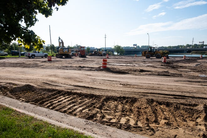 Work has begun on the reconstruction of Riverside Boat Launch in Port Huron. Most of the work will be completed this fall, and the new bathroom facility will be added next spring.