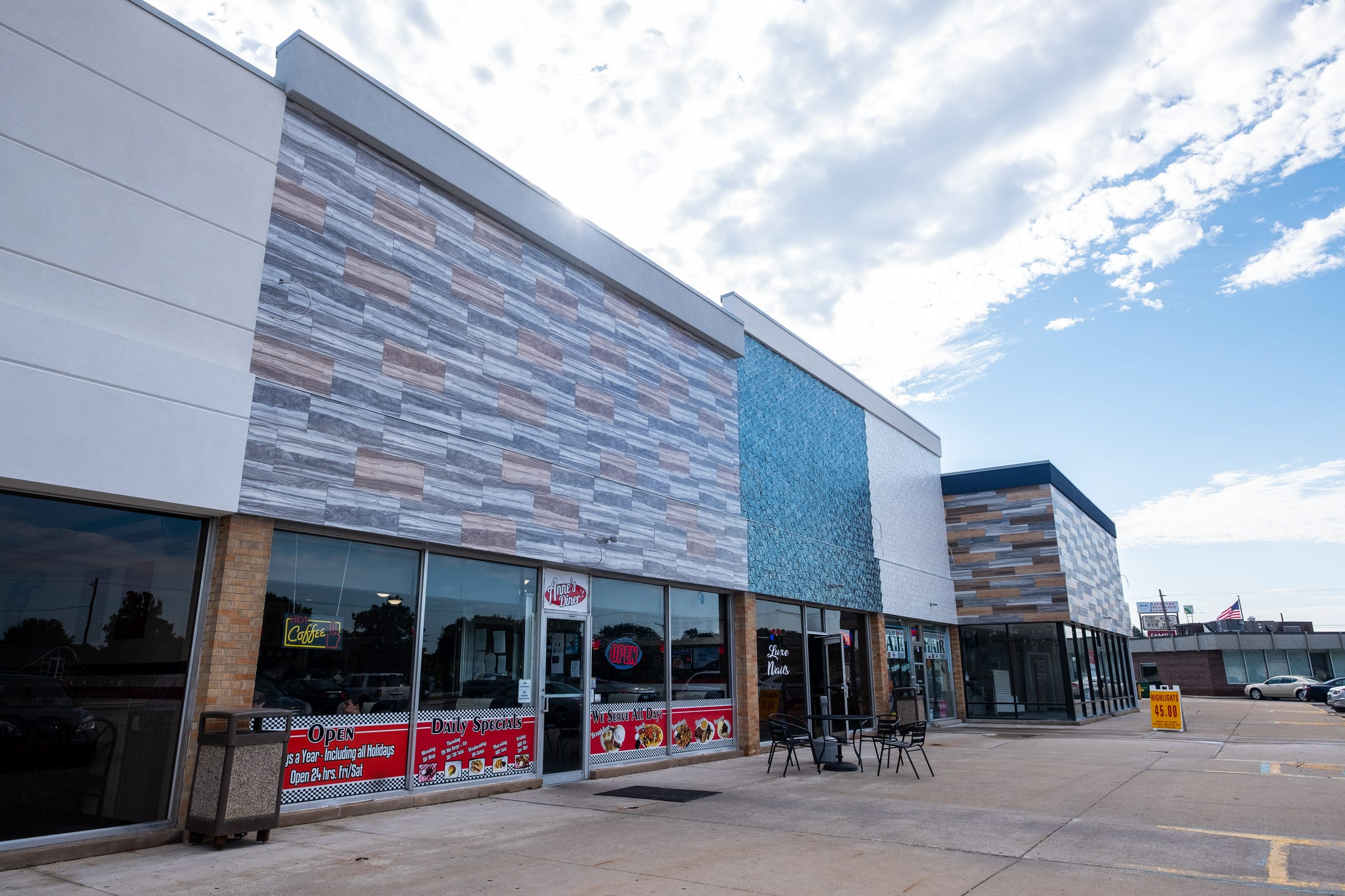 The Port Huron Town Center complex, located on the east side of the 2800 block of PIne Grove Avenue, was first slated to get an upgrade under new ownership in 2017. The upgrade is in the last phase of construction.