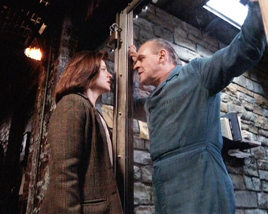 """The Silence of the Lambs,"" directed by Jonathan Demme and starring Jodie Foster and Anthony Hopkins, will be shown on the big screen at The Bardavon Oct. 4."