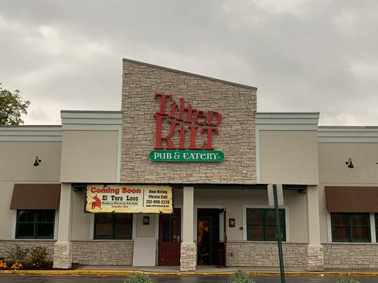The former site of Tilted Kilt, at 1955 South Rd. in the Town of Poughkeepsie on Sept. 26, 2019.