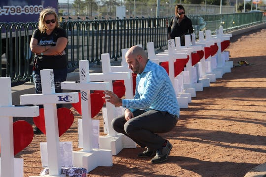 Across Las Vegas Tuesday, two years after the 1 October shooting killed 58 people, the lives of survivors and victims were remembered and celebrated.