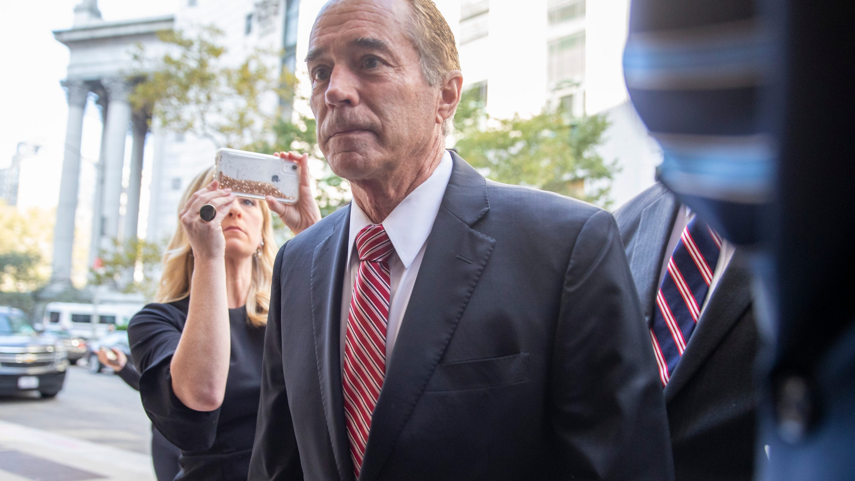 What kind of sentence could former Representative Chris Collins receive?