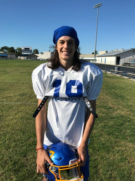 Gator Wilson scored four touchdowns for Anderson in his team's win over Las Plumas