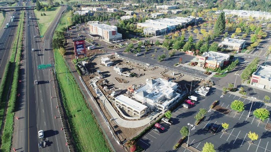 Construction moves along for the In-N-Out Burger site at Keizer Station bringing the Mid-Valley closer to the opening of the popular burger chain.