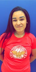 Everett Alvarez senior Aaliyah Foster helped push the Eagles' volleyball team to two 3-0 wins last week on her way to winning the Girls' Athlete of the Week award. Sept. 30, 2019.