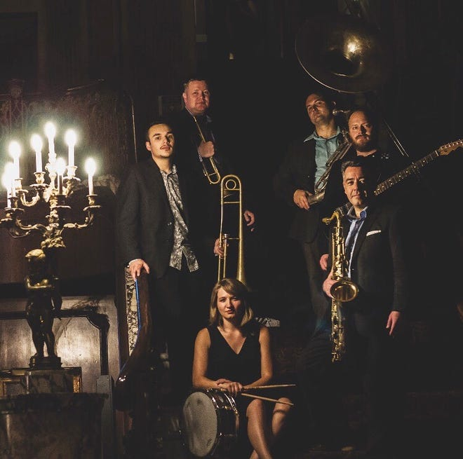 Grand Marquis jazz band will perform at 7 p.m. Oct. 5 at minicine?