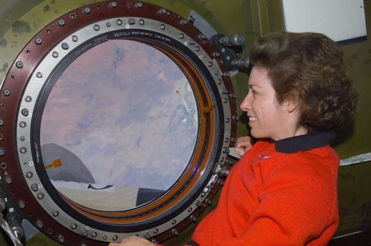 NASA astronaut Ellen Ochoa became the first Hispanic woman to visit space in 1993 when she served on a nine-day mission on the Space Shuttle Discovery.