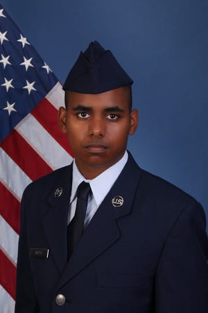 U.S. Air Force Airman Gavin A. Watts