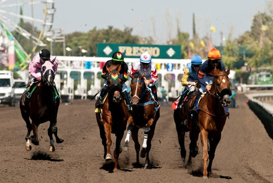 Horse racing is back at the Big Fresno Fair.
