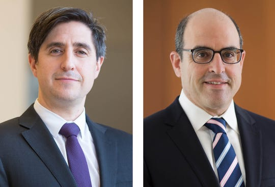 Dr. David Altschul (left), Director of Neurovascular Surgery, Co-Director Montefiore Comprehensive Stroke Center and Dr. Allan Brook (right), Director, Division of Interventional Neuroradiology, Co-Director Montefiore Comprehensive Stroke Center.