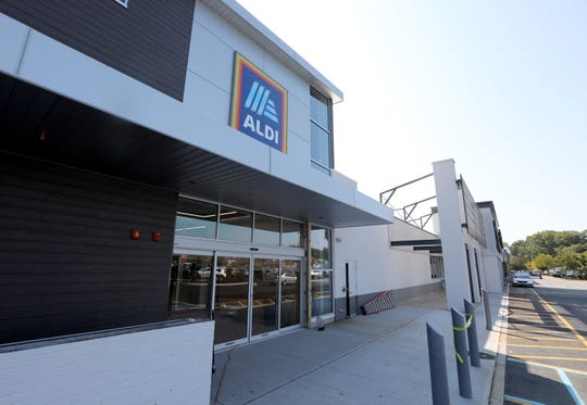 An Aldi supermarket is getting ready to open where a Pathmark store was located in Nanuet Oct. 1, 2019.