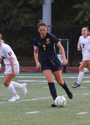 Lourdes senior Isabella Burke was voted the lohud girls soccer Player of the Week on Oct. 1, 2019.