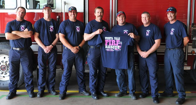The Wichita Falls Fire Department firefighters are selling their annual WFFD Care t-shirts to raise money to donate to Susan G Komen and the American Cancer Society. Each t-shirt cost $15 and helps the community show support and show awareness for breast cancer research.