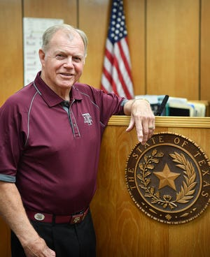 78th District Judge Barney Fudge retired after ten years on the bench. He has been practicing law since the early 1970s.