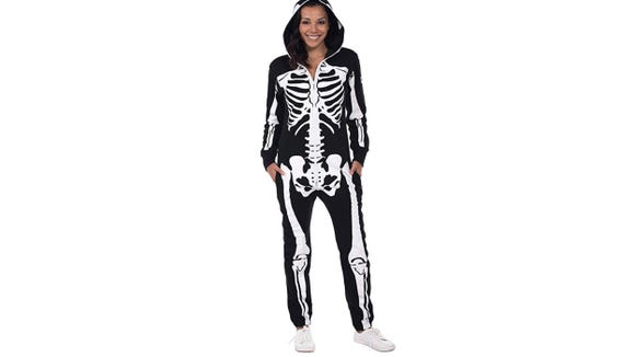 This jumpsuit is a little spooky without being too scary.