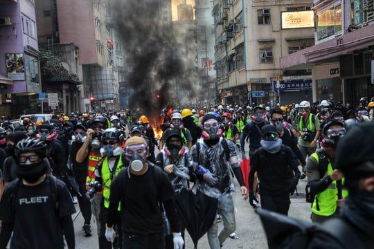 China National Day: Hong Kong Protester Shot, Police