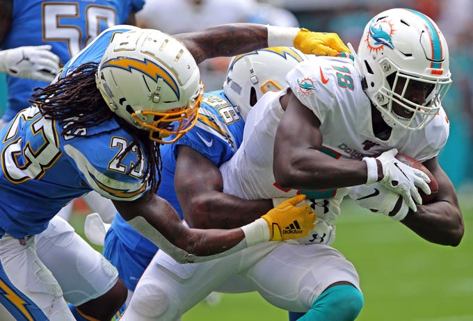 32. Dolphins (Previously: 32): The bye week is favored by 17½ points.