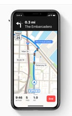Apple Maps new look
