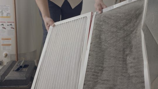 Make sure your filter is clean. If it's at all plugged, air and heat distribution around the house will significantly drop.