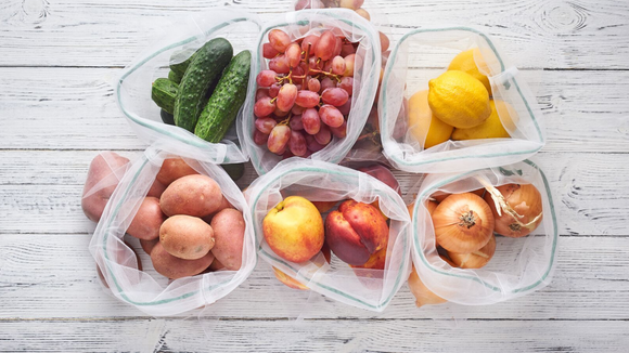 For produce that are smaller in size, these bags can help.