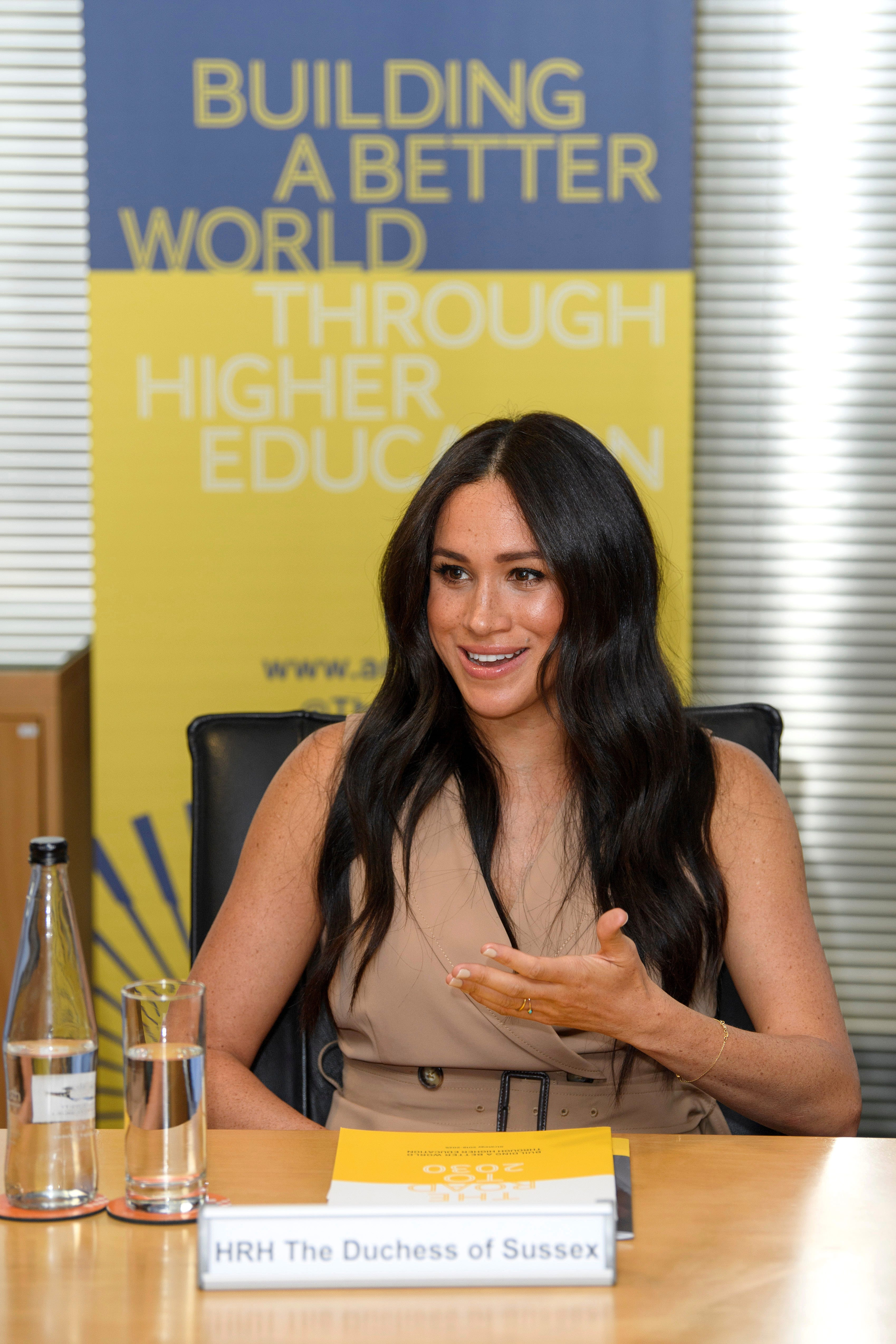 'I can't screw up': Duchess Meghan breaks speech to check notes during solo Johannesburg visit