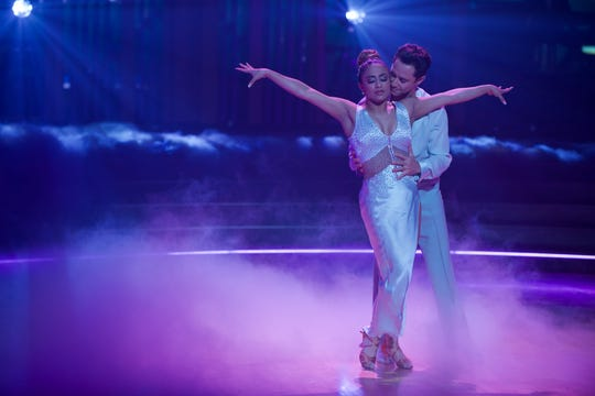 Ally Brooke and Sasha Farber brought their own fog.