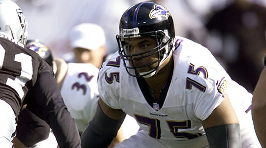 Jonathan Ogden played in 11 Pro Bowls, was a four-time First Team All-Pro and won a Super Bowl with the Ravens.