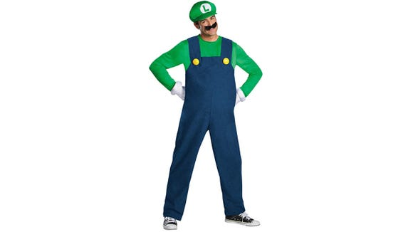Is it Luigi's time to shine? If the popularity of this costume is anything to go by, yes.