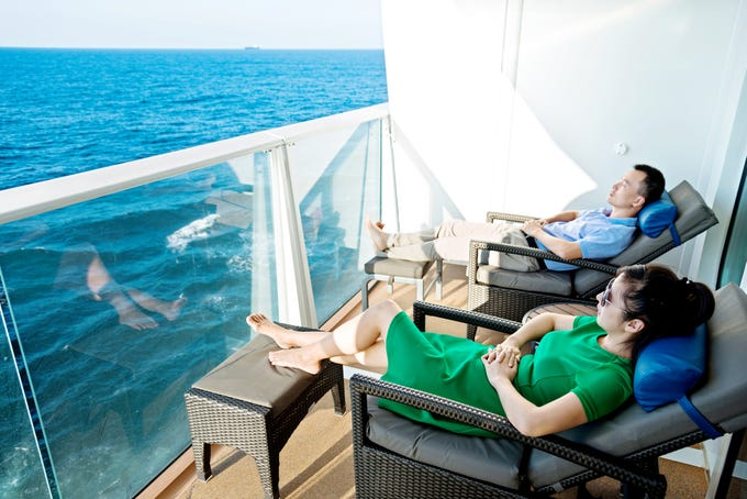 Cruises: Enjoy a moment to yourself in these secret ...