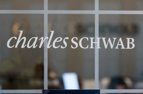 Charles Schwab is dropping commissions for online trading of U.S. stocks and exchange-traded funds.