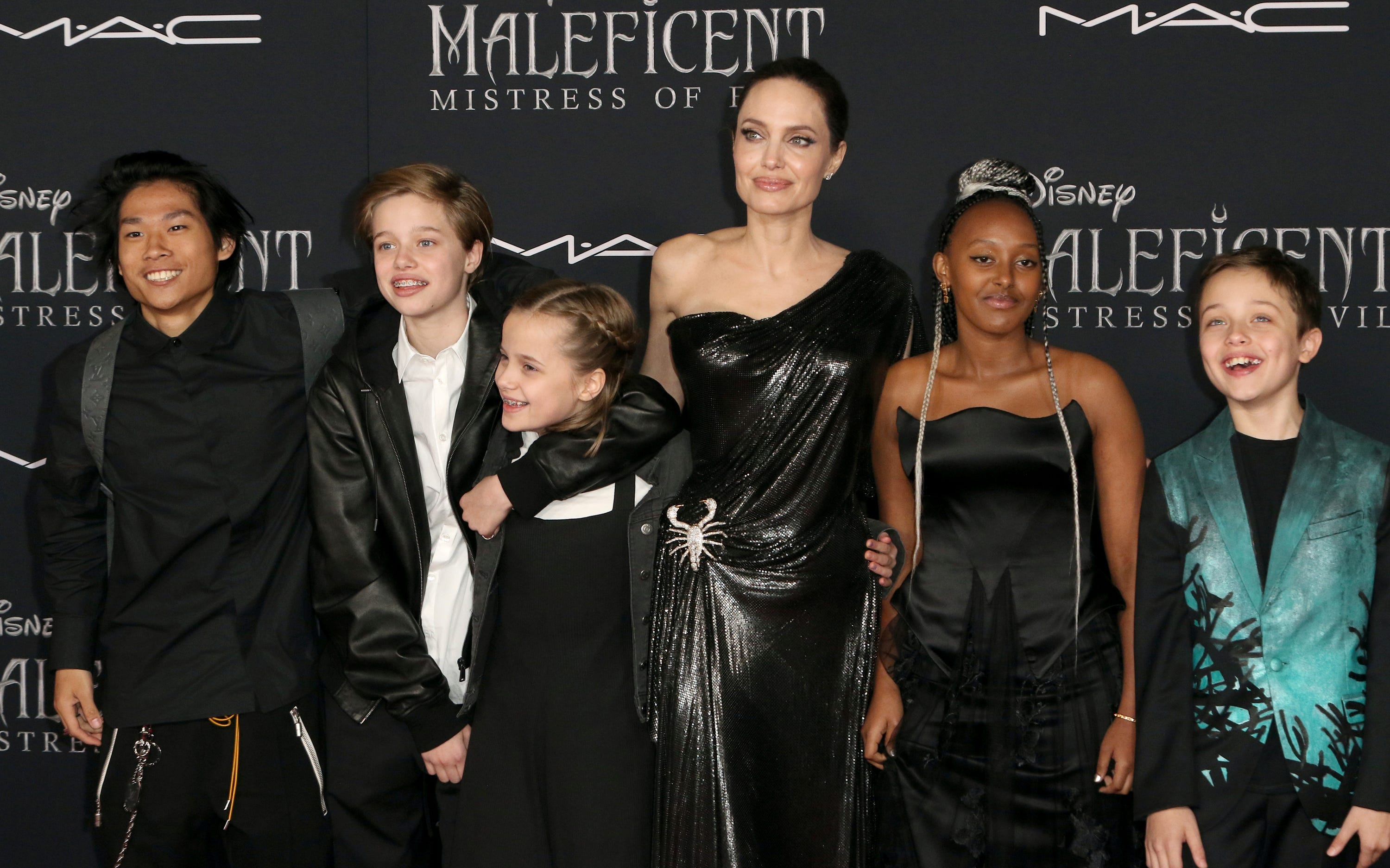 Angelina Jolie's kids steals the show at 'Maleficent: Mistress of Evil' premiere