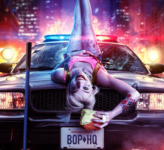 "Margot Robbie's colorful antiheroine returns in ""Birds of Prey (and the Fantabulous Emancipation of One Harley Quinn)."""